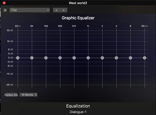 Audio Equalization