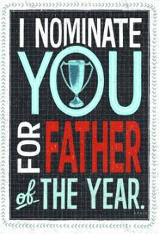 Vatertagsgrusskarten
