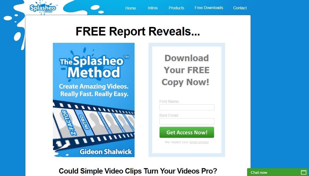 Splasheo Intro Programm
