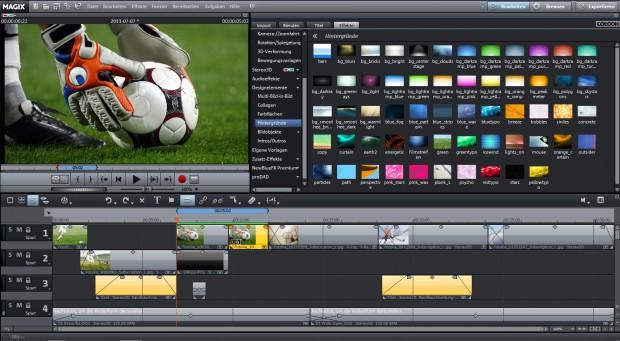 Video zusammenschneiden mit Magix