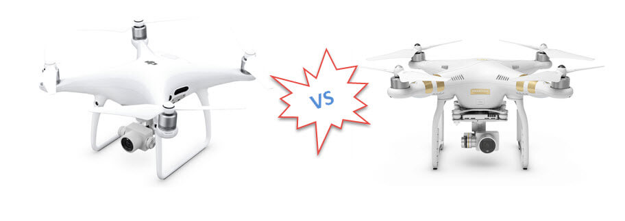 phantom 4vs phantom3 pro