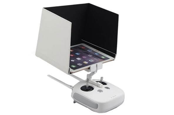 remote controller monitor hood for tablets