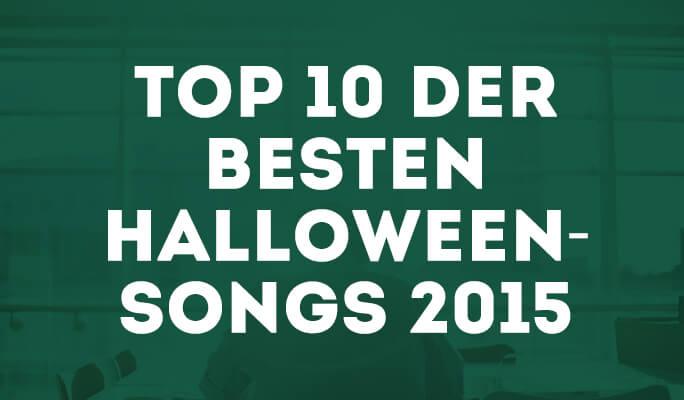 Top 10 der besten Halloween-Songs 2015