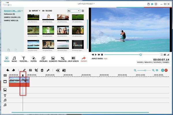 Video Schneider und Zusammenfügen Programm
