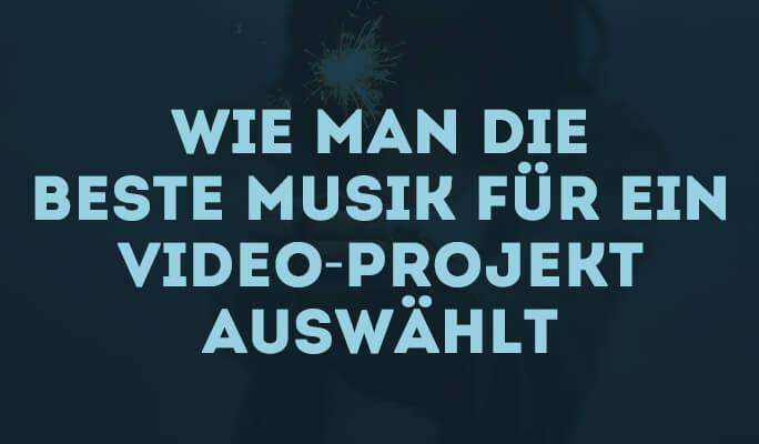 Musik aussuchen