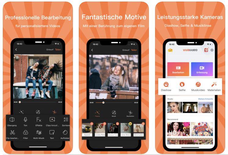 die 10 besten apps zum video bearbeiten auf dem iphone 2018. Black Bedroom Furniture Sets. Home Design Ideas