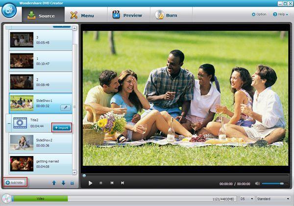 8mm Video auf DVD brennen-Interface
