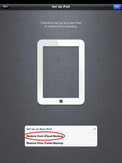 iPhone apps wiedehrerstellen