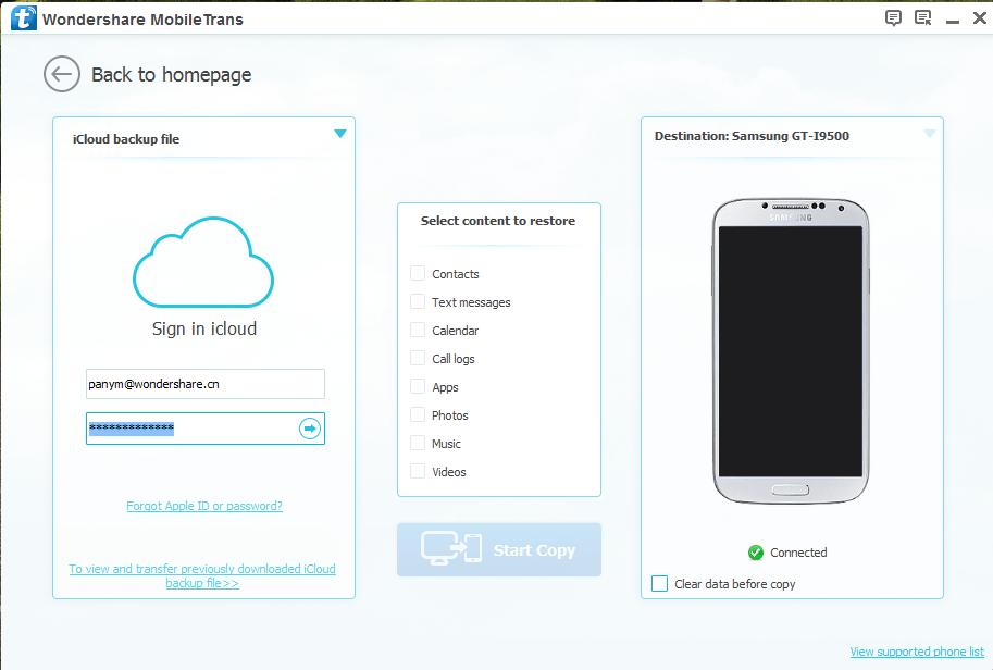 icloud kontakte auf Android übertragen