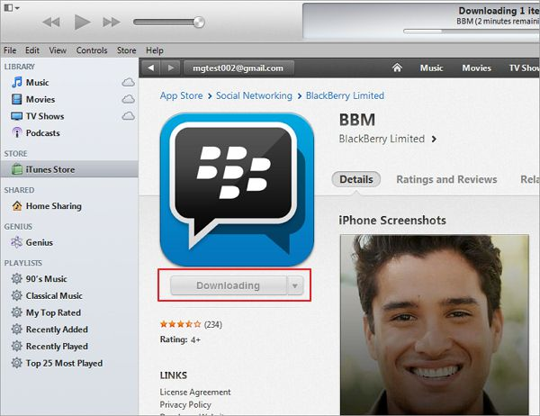 messenger apps for blackberry and iphone