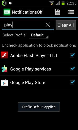 manage notifications for android