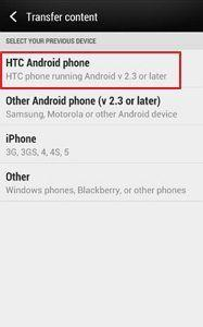 transfer content from android to htc