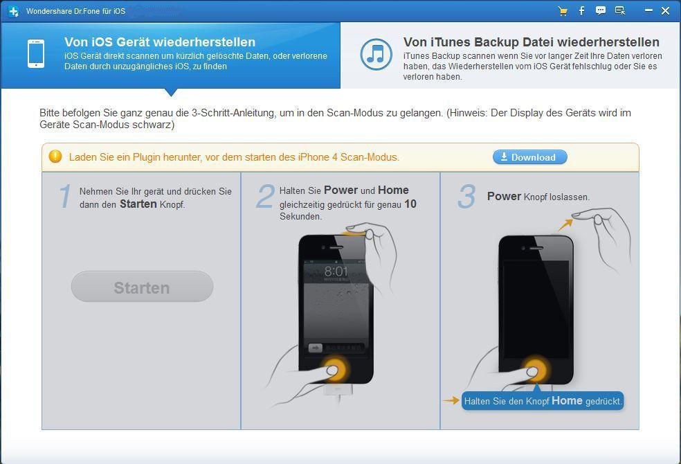 ipod touch 4 daten sichern