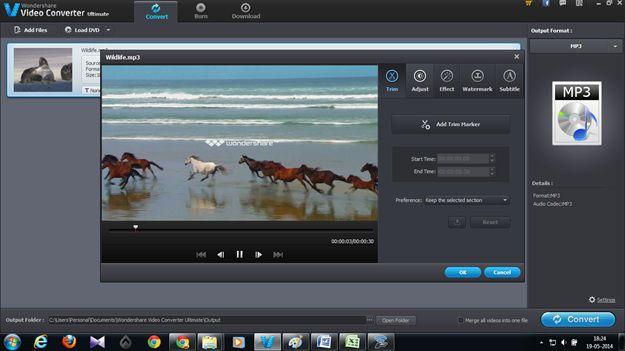 avi in mp3 mit video converter ultimate konvertieren