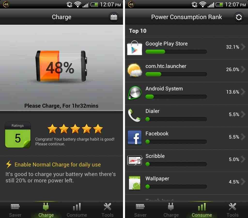 how to take care of android phone battery