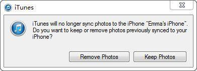 delete pictures from iPhone