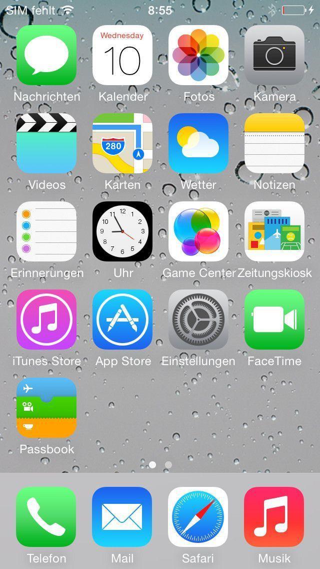 Schalten Sie Background-App-Refresh aus