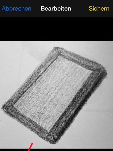 iPhone Fotos zuschneiden