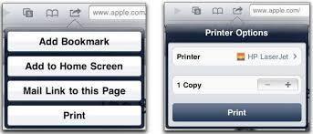 iPhone Fotos drucken