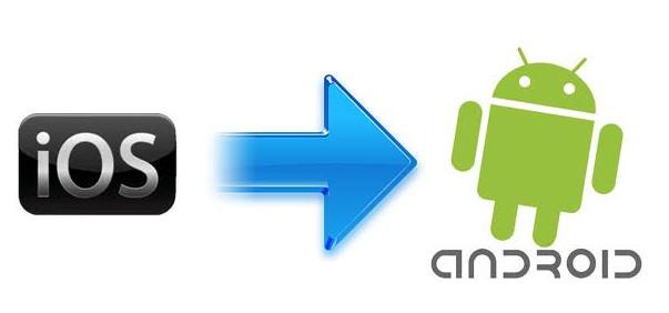Daten von Android auf iPhone übertragen