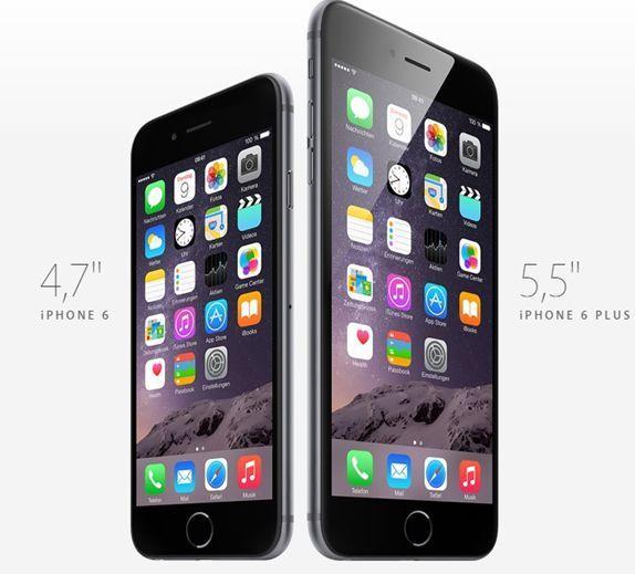 Änderungen und Neuerungen des iPhone 6