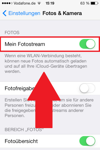 itunes fotos vom iphone auf pc