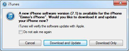 how to upgrade to iOS 7.1