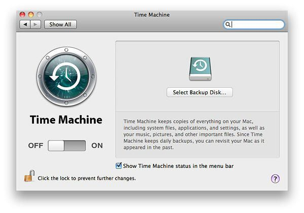 use time machine to backup iphoto
