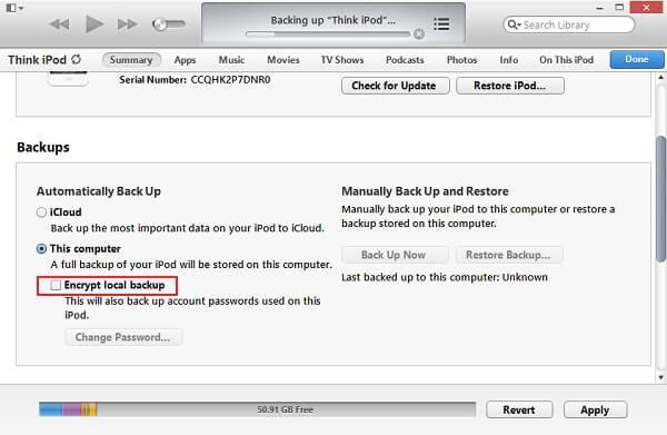 3 Wege, um einen iPod Touch 5 vor der Aktualisierung auf iOS 9/8 zu sichern