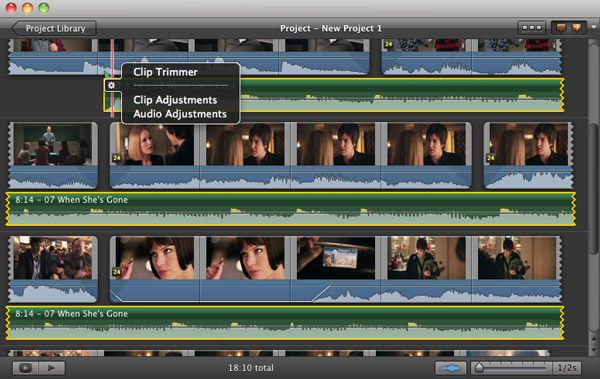 add music in imovie