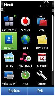 Nokia auf iPhone