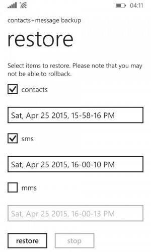 Kostenlose Lösungen für das Backup und Wiederherstellen von Windows Phone
