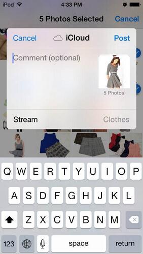 2 Methoden zur Übertragung von Fotos vom iPod auf das iPad und vom iPad auf den iPod