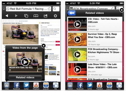 flash videos on iPad