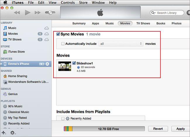 iPhone mit dem Mac synchronisieren