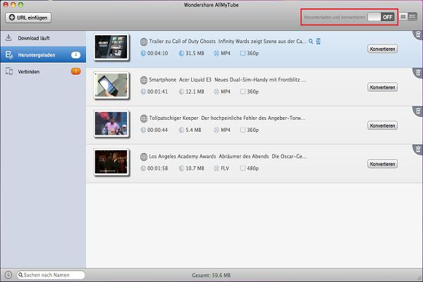 YouTube Videos auf iTunes importieren
