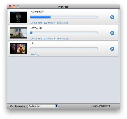 convert MTS to iMovie Mountain Lion