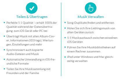 TunesGo (iOS) key feature