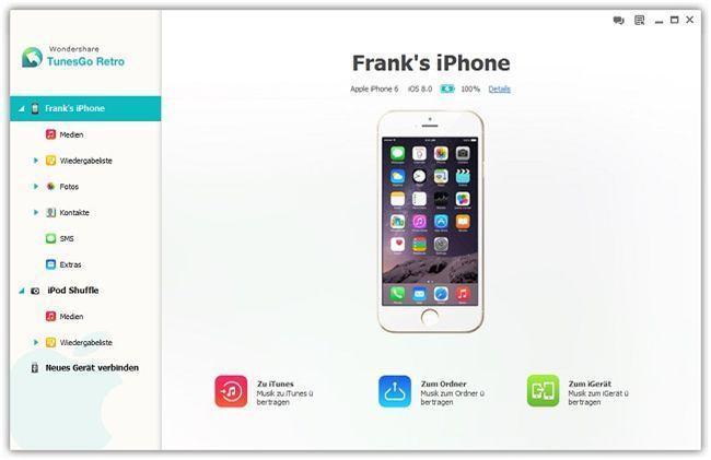 vcard iphone importieren