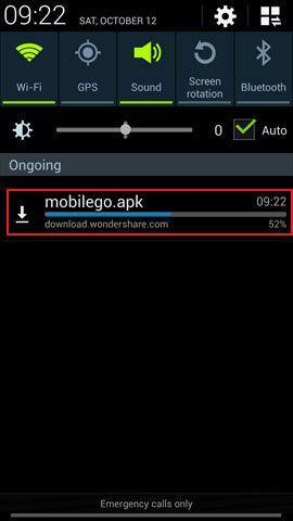 Screenshot auf android