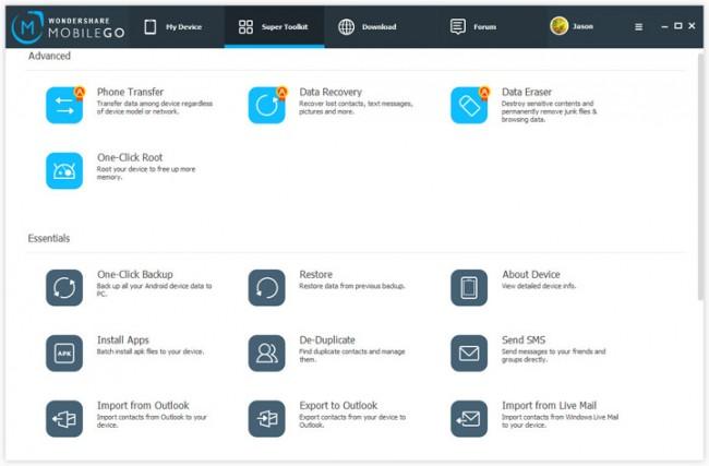 Wondershare MobileGo Android