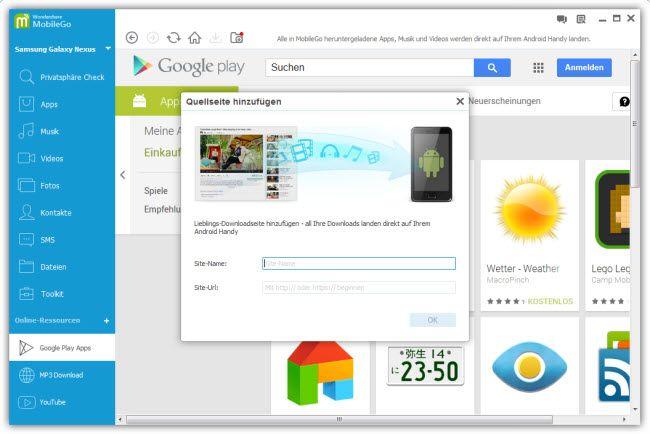Wie Sie Dateien auf ein HTC übertragen