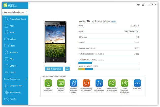 oogle Mail-Kontakte auf Android synchronisieren