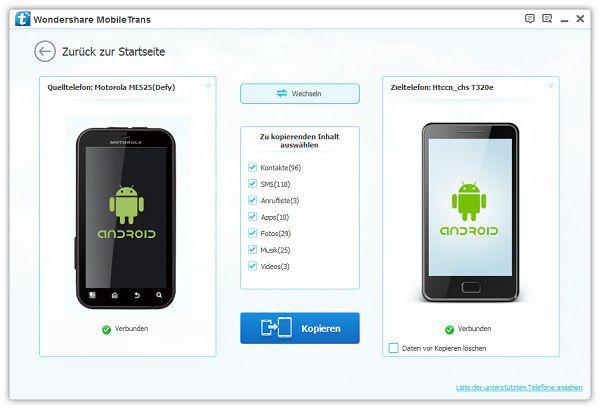 android apps auf anderes gerät kopieren