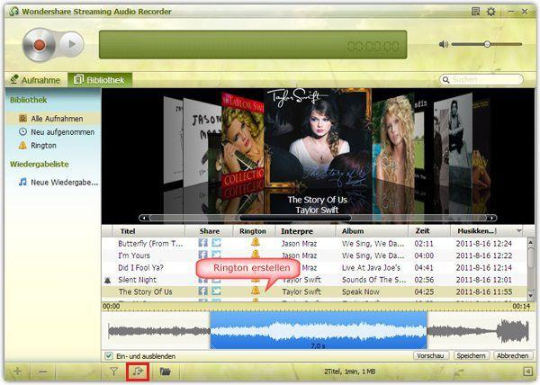 Musik vom Online-Musik-Websites auf Android