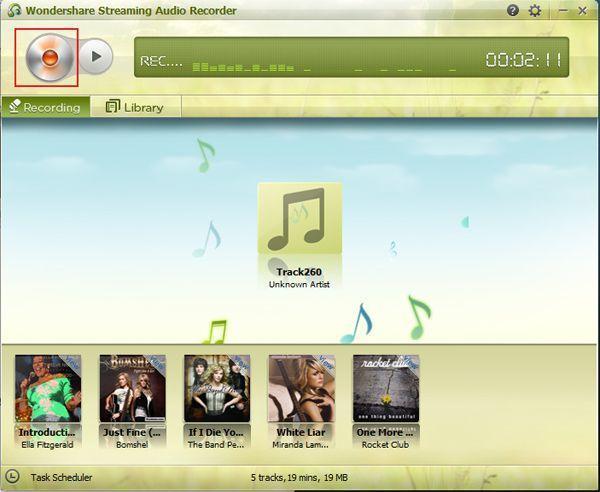 streaming musik aufnehmen