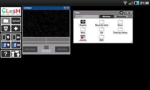 Anroid Video bearbeiten mit clesh