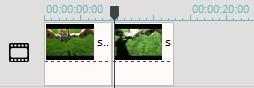 Videoclip bearbeiten - Video aufteilen