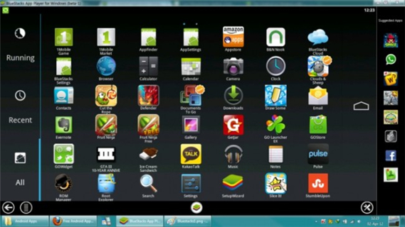 Bluestacks PC Suite