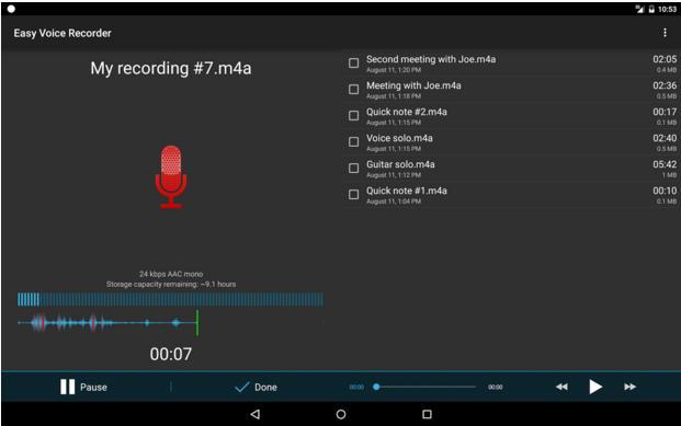 easy voice recordert